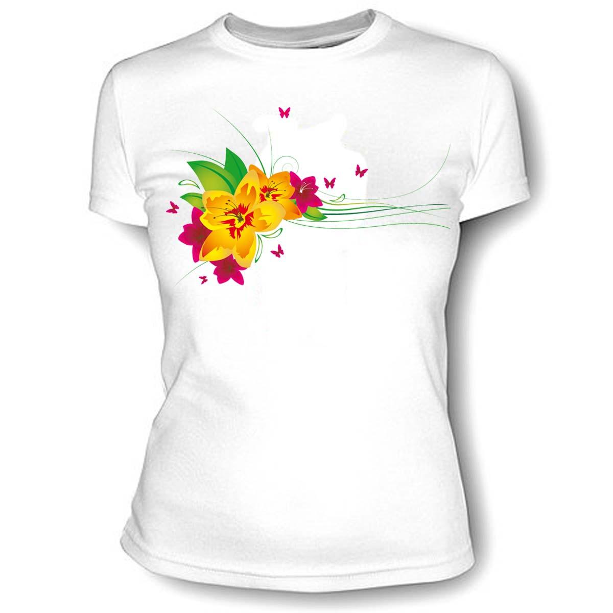 печать названий футболка